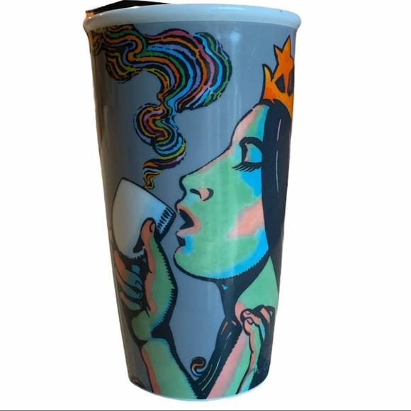 Starbucks Siren Mermaid Coffee Tumbler Mug  12 oz